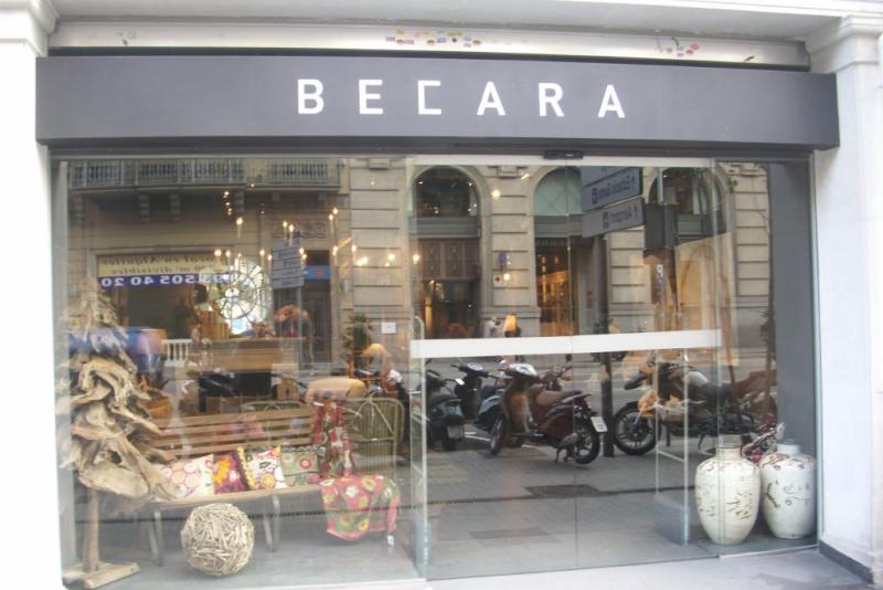 BECARA BARCELONA – c/ Aragó, - Barcelona –