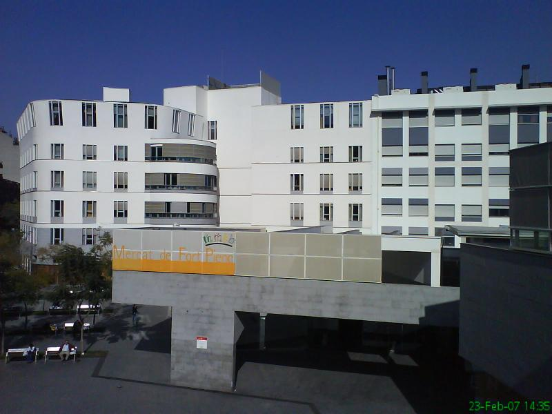 MERCAT MUNICIPAL - Fort Pienc - Barcelona
