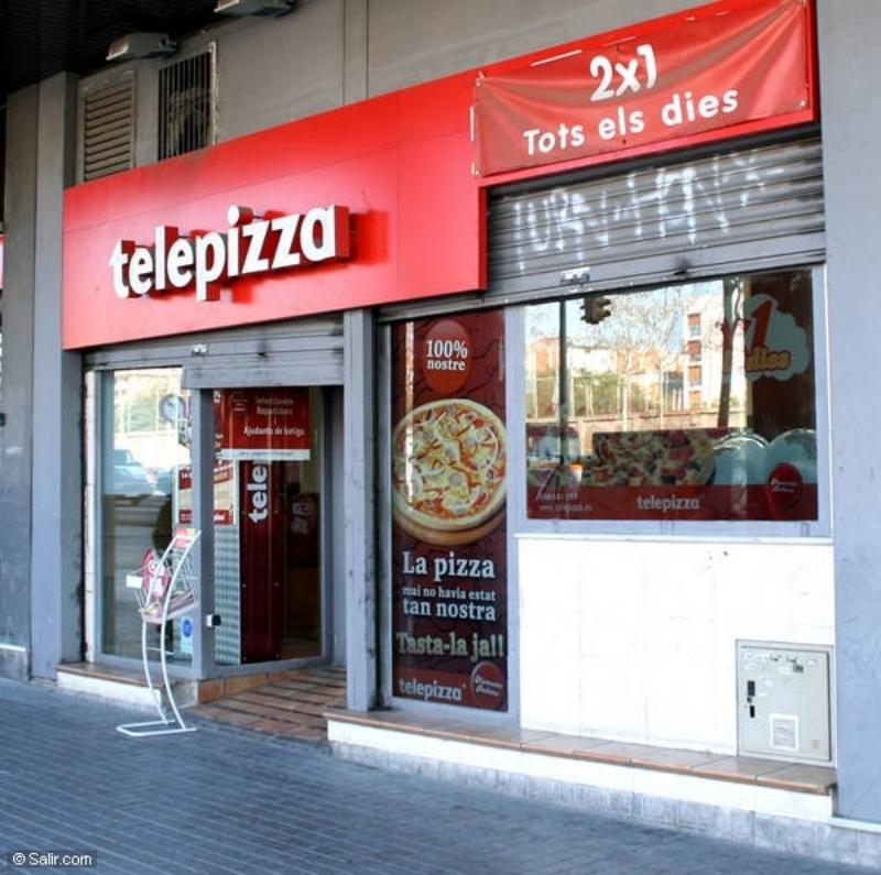 TELEPIZZA Restaurants Fast-food - (40 locals)